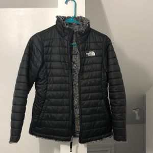 North face insulated reversible jacket